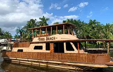 Tikki Beach II Party Boat in Miami and South Florida