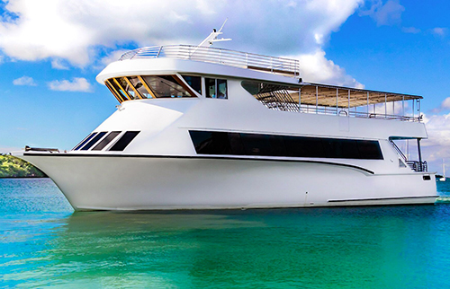 Bayride Party Yacht Charters in Miami and South Florida