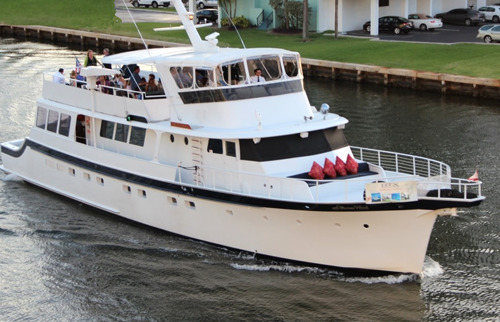 Classic Party Boat in Miami and South Florida