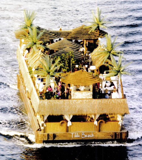 Tikki Beach Party Boat in Miami and South Florida