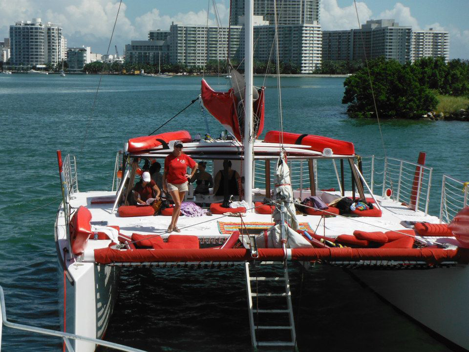 Miami Catamaran I Party Boat Charter in Miami and South Florida