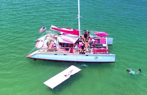 Miami Catamaran I Party Yacht Charter in Miami and South Florida
