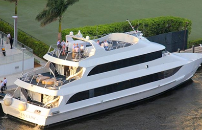 Venice Miami Party Yacht Charter