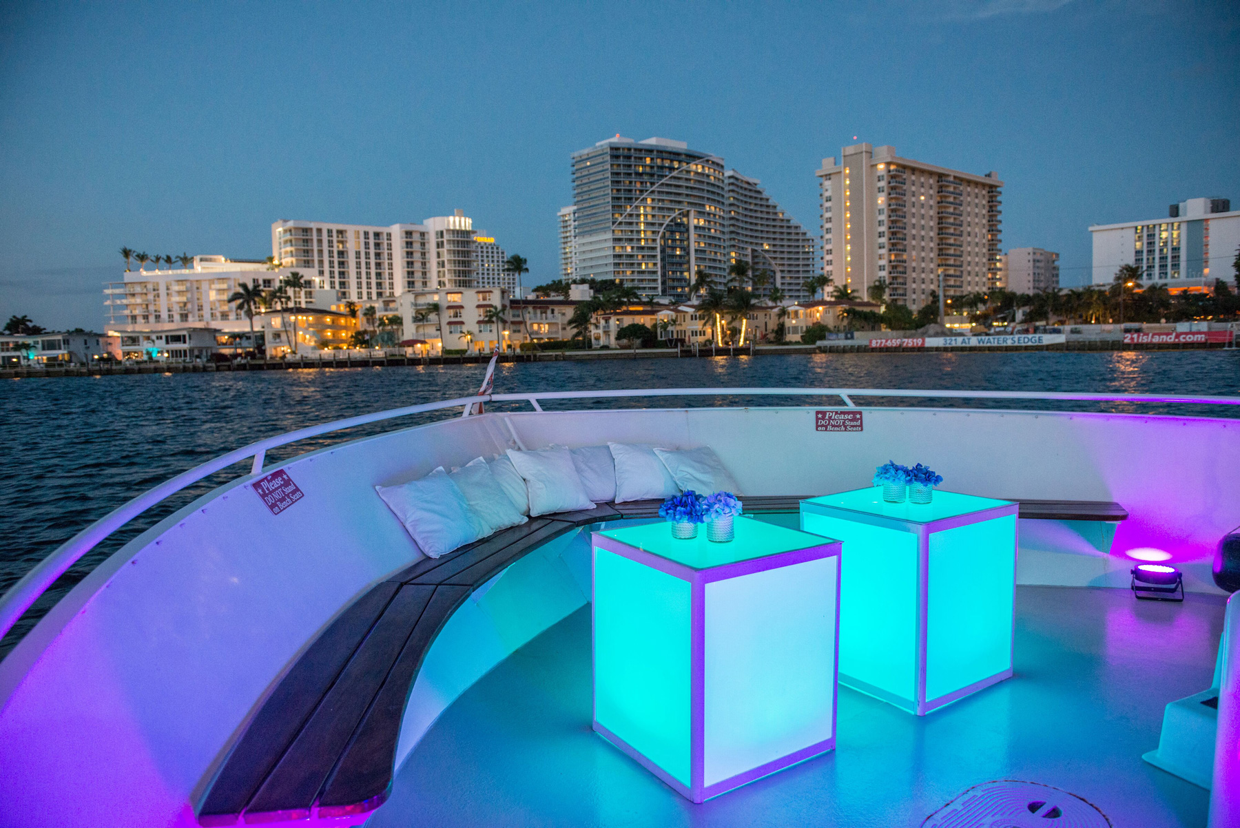 Hollywood Princess Party Yacht Charter